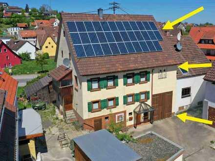 Grandios modernisiertes Bauernhaus im Ortskern von Haigerloch-Stetten