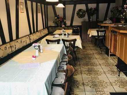 Gasträume für Restaurant, Bistro oder Café - mit Ausstattung