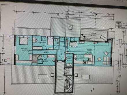 Neuwertige 3-Zimmer-Penthouse-Wohnung mit Balkon in Oelde (Neubau)