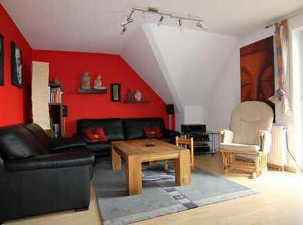 Ca. 140 m² Grundf., Maisonette 2,5 (3,5) Zi., riesige Bühne - super Aussicht, sofort bez.- HM-Serv.
