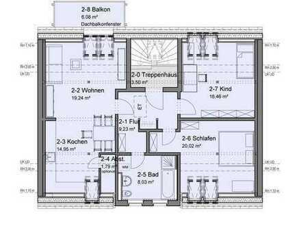 Erstbezug nach Sanierung, 3-Raum-Wohnung in Werdau zu vermieten