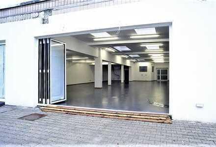 Vielzweckhalle 330 m², z.B. für diverse gewerbliche Ausrichtungen geeignet: Trierer Straße