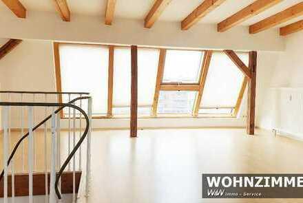 Schöne 2-Zimmer Maisonette Wohnung mit neuer EBK