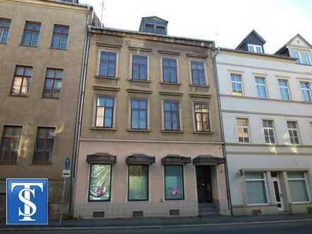 leer stehendes Wohn- und Geschäftshaus / Reihenmittelhaus in Plauen (Zentrum / Dobenau)