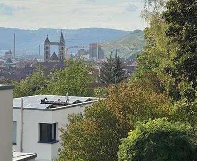 Easy living mit separatem Home-Office am Esslinger-Burghang in aussichts-reicher Lage!