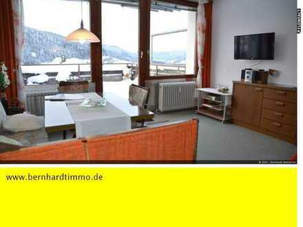 Gepflegte 1- Zimmer-Wohnung in ruhiger Aussichtslage