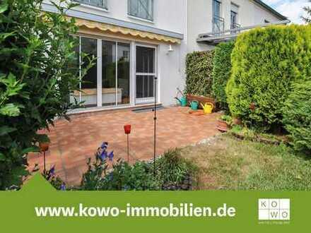 Reihenhaus mit Garten, Stellplatz und Einbauküche in Markranstädt zu vermieten