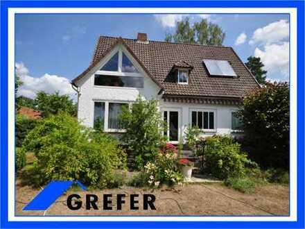 Einfamilienhaus mit Keller und großem Grundstück GREFER IMMOBILIEN