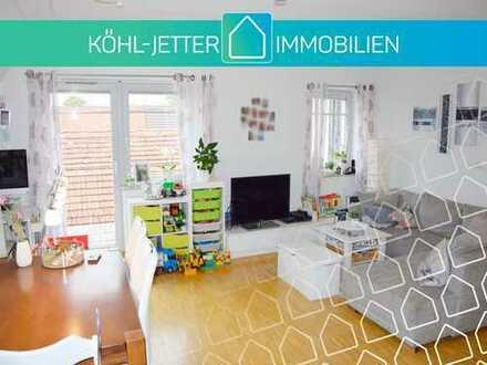 Schöne 2 Zimmer-Maisonette-Wohnung mit EBK in zentraler Lage von Rosenfeld!