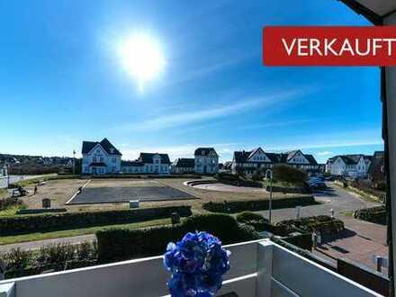 VERKAUFT - 2-Zimmer Ferienwohnung mit Südbalkon in Traumlage