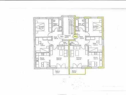 Freundliche 3-Zimmer-Wohnung mit Balkon in der Ortsmitte von Reichertshofen