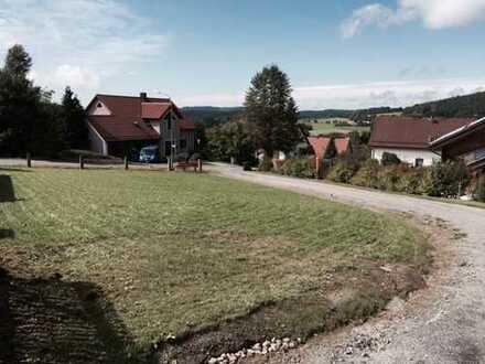 Wohnbaugrundstück mit schönem Ausblick, ideal auch für ein Wochenend- oder Ferienhaus