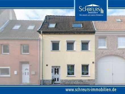 Saniertes kleines Stadthaus mit Garten und Garage im Zentrum von Hüls