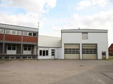 Hallen-/Lager-und Büroflächen
