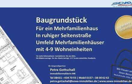 Bauträger aufgepasst! Grundstück für eine Mehrfamilienhaus in Ingolstadt - ruhige Seitenstraße - ...