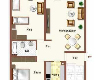 Eine gute Gelegenheit zum Kauf einer 3 Zimmer-Wohnung in Freiburg - Sankt Georgen