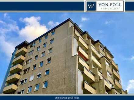 Großzügige 3-Zimmer-Wohnung mit Taunusblick in zentraler Lage