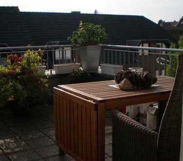 Wohnen im Ortskern von Hüls - Schöne 3-Zimmer-Wohnung mit Balkon