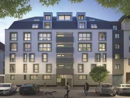 OF-CITY mit hoher Lebensqualität: Top-Neubau-Wohnung (Erstbezug!) mit EBK und Balkon!