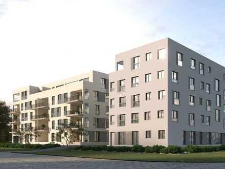 **2 große Terrassen** Stylishe 3-Zimmer-Wohnung in grüner Oase inmitten einer urbanen Umgebung