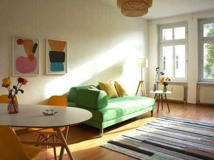 ERSTBEZUG - sonnige, vollmöblierte 2Zi Wohnung im beliebten Winsviertel mit Balkon