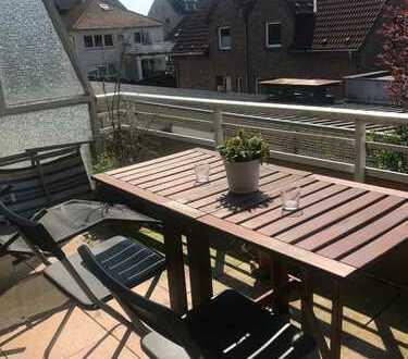 Schönes 1-Zimmerapartement mit Balkon und Garage im Zentrum von Moers