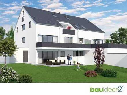 Die Alternative zum Haus - 5-Zi.-Whg. mit 142 m² Wfl., großem Garten, Bad en Suite uvm.
