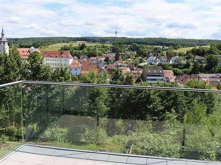 Exklusive, neuwertige 2,5-Zimmer-Maisonette-Wohnung mit Balkon und Einbauküche in Waldenbuch