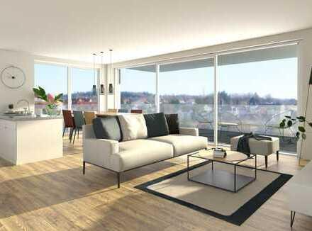 Top 3 Zimmerwohnung mit außergewöhnlichem Blick ins Linzgau und großer Dachterrasse