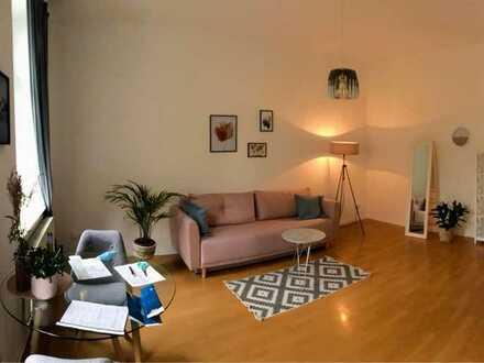 Schöne möbilierte, ruhig gelegen Wohnung in Gohlis-Süd, inkl. Internet (KEIN VERKAUF!)