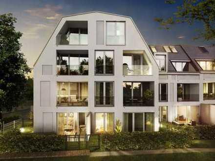 Dachgeschoss-Wohntraum mit durchdachtem Raumkonzept in vornehmer, ruhiger Umgebung