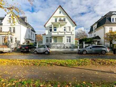 +++ Luxuriöse Garten-Wohnung in 1A Rheinlage mit Garage und Carport! +++