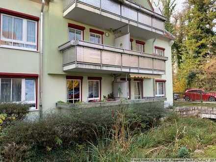 MAIER - Betreutes Wohnen! Barrierefreie Terrassenwohnung zur Kapitalanlage!