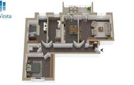 LiVING Salomon - Start -Graphisches Viertel  Zauberhafte 3Raumwohnungen reservieren Sie jetzt 18a