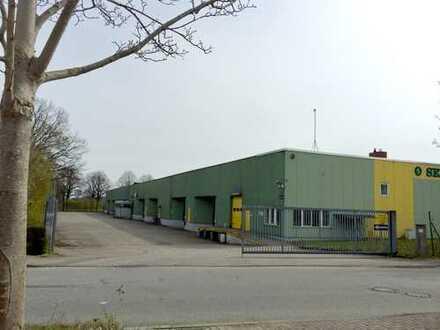ERFOLGREICH VERKAUFT - LAGER - und LOGISTIK -Immobilie -