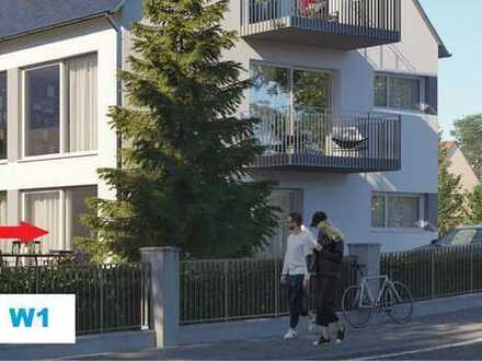 W1, EG, links - hochwertige NEUBAUWOHNUNG - anspruchsvolles Wohnen in schöner Lage