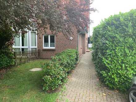 Zentrale 3-Zimmer-Wohnung mit Garten in Jork