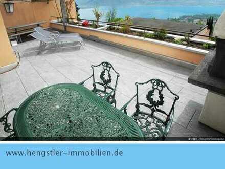 Einmalige 5,5-Zimmer Duplex-Wohnung mit unverbaubaren Blick auf den Lago Maggiore