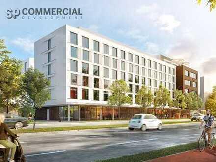 NEUBAU - Hochwertige Büroflächen gegenüber Siemens Campus zu vermieten