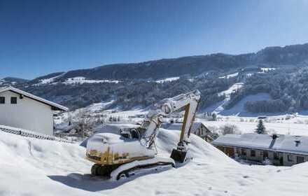 Traumhaftes Baugrundstück in Wiedemannsdorf mit Berg- und Skilift Blick