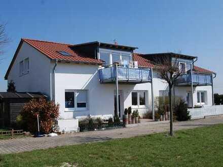 75-qm Wohnung mit Balkon am Feldrand