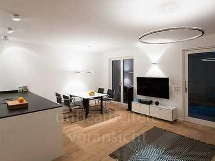 Stilvolle, geräumige und neuwertige 3-Zimmer-Wohnung mit Balkon und Luxus EBK in Harlaching, München