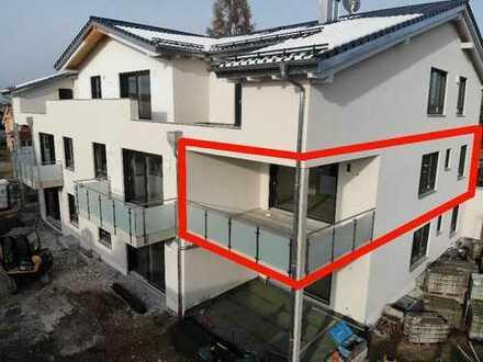Erstbezug mit Balkon: großzügige 3-Zimmer-Wohnung in Bobingen
