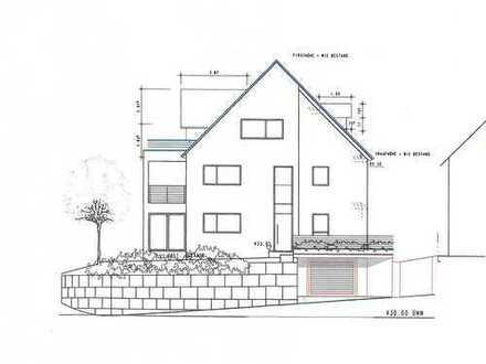Geplantes 2-3 Familienhaus zum Fertigbauen in Toplage