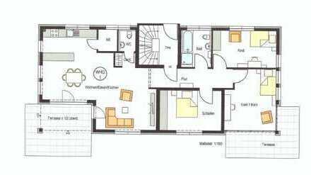 Erstbezug: Stilvolle 4-Zimmer-Wohnung in Reutlinger Innenstadt