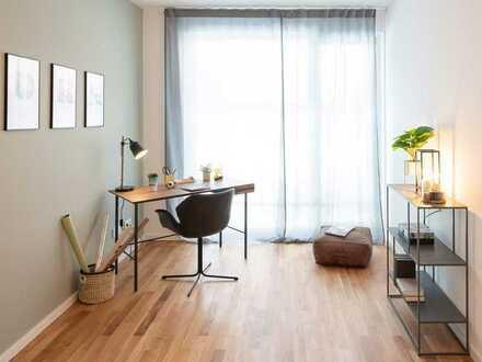 Ein idealer Ausgangspunkt für Alltag und Freizeit: 4-Zi.-Neubauwohnung mit Balkon nahe Stadtzentrum