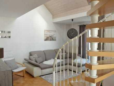 Gepflegte 3-Zimmer-Maisonette-Wohnung mit Balkon und EBK in Giengen an der Brenz