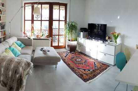 Gepflegte 4,5-Zimmer-Maisonette-Wohnung mit 2 Balkonen und 2 Bädern in Diedorf