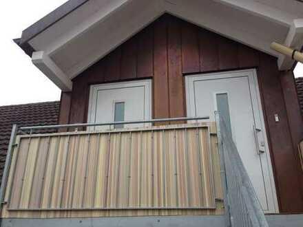 Ansprechende, sanierte 2-Zimmer-Dachgeschosswohnung zur Miete in Pfaffenhofen