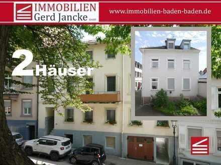 Baden-Baden, zwei sehr zentral gelegene Mehrfamilienhäuser!